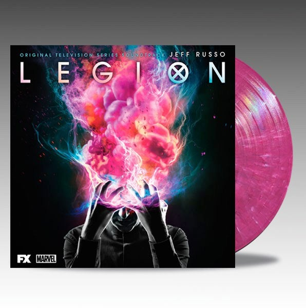 Image of Legion (Original Television Series Soundtrack) 2 x 'Pink Marble' Vinyl - Jeff Russo