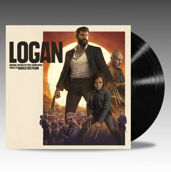 Image of Logan (Original Motion Picture Soundtrack) 2 x 'Black Vinyl' - Marco Beltrami