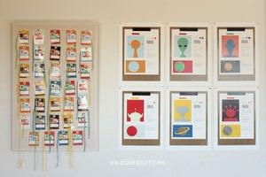 Image of Pack imprimible fiesta espacio