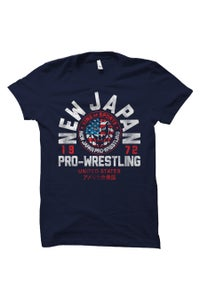 Image of NJPW x SPLX 'New Japan USA' Collaboration T-Shirt