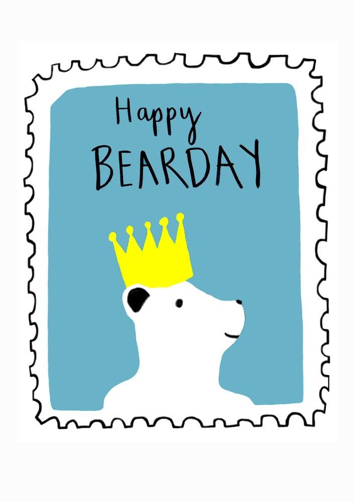 Image of Happy Bearday