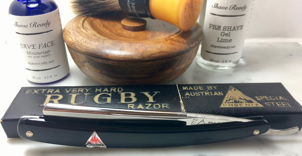 Image of Rugby Japanese Shave Ready Straight Razor