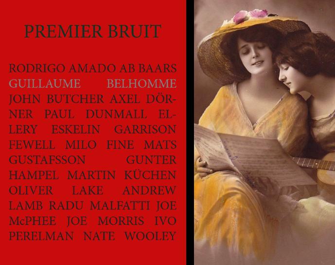 Image of Premier bruit Trente-six échos de Guillaume Belhomme