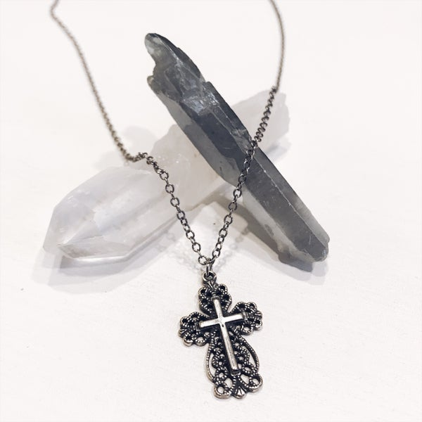 Image of Antique Silver Cross