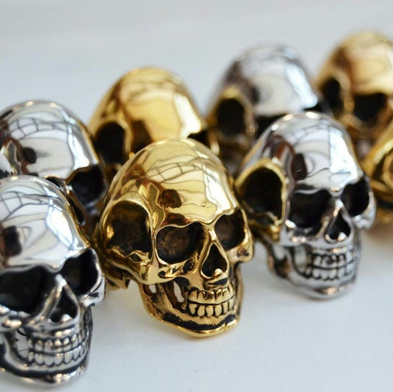Image of Need A Face Skull Ring