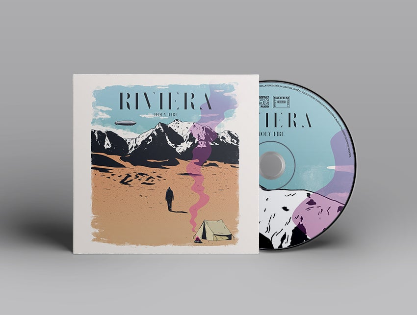 """Image of RIVIERA - EP """"Holy Fire"""""""