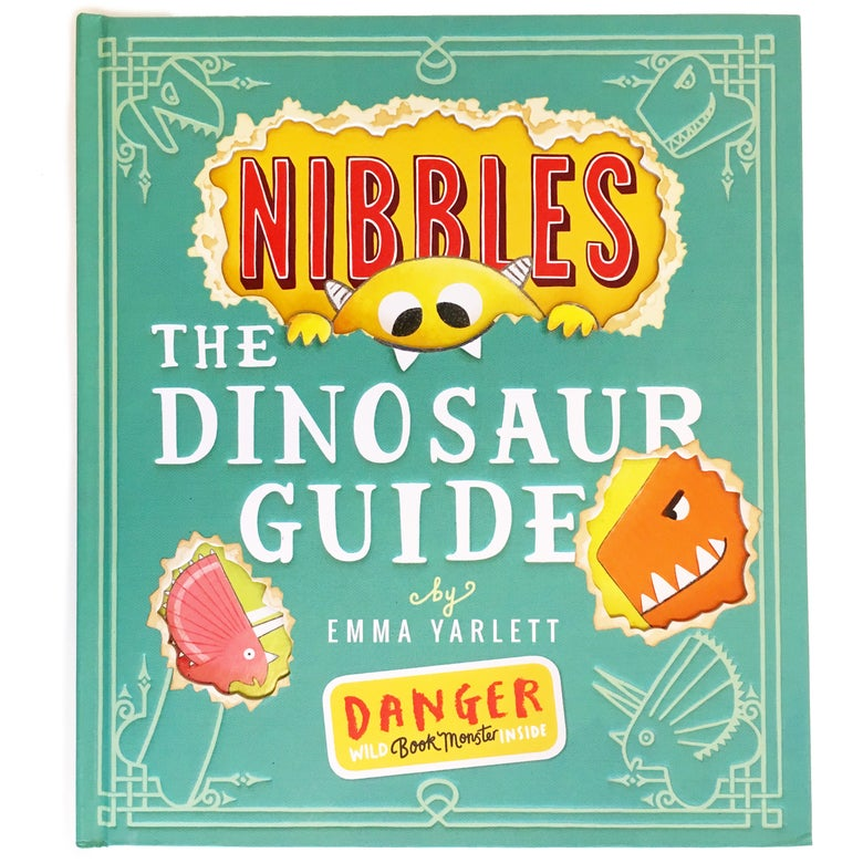 Image of Signed Hardback Book : Nibbles The Dinosaur Guide