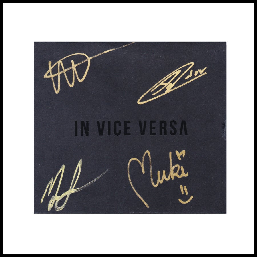 Image of IN VICE VERSA - Empathy (EP) SIGNED COPY