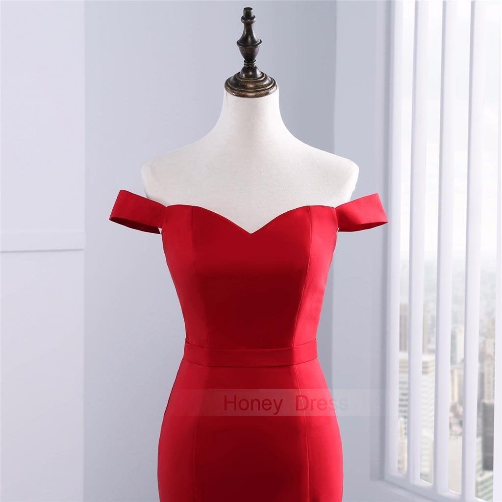 Elegant Red Evening Dresses