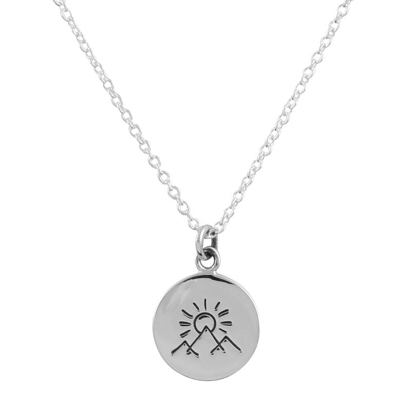 Image of Sterling Silver Dara Earth Necklace