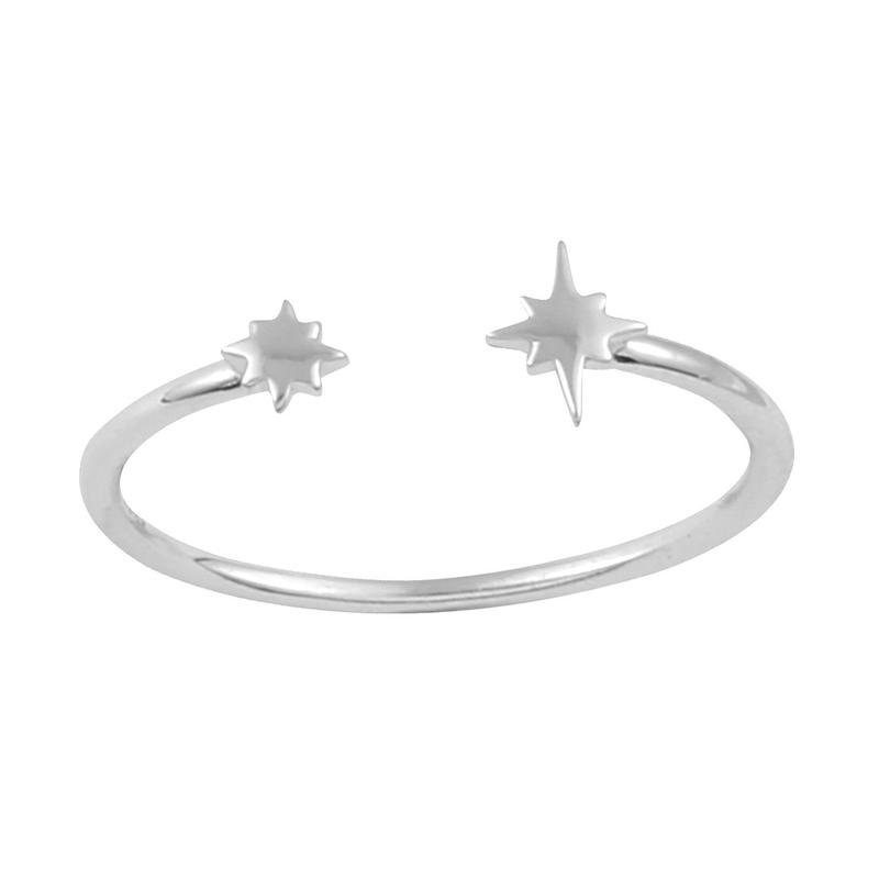 Image of Sterling Silver Stargazer Ring