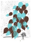 Image of Winter Leaves Screenprint - New!
