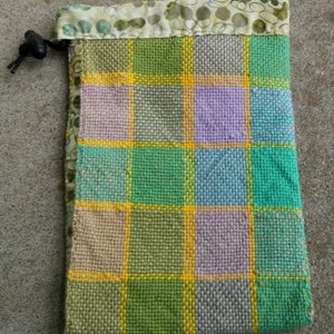 Image of Spring Plaid, gaming bag