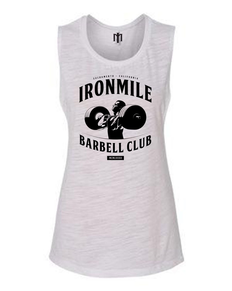Image of Barbell Club Flowy Muscle Tank