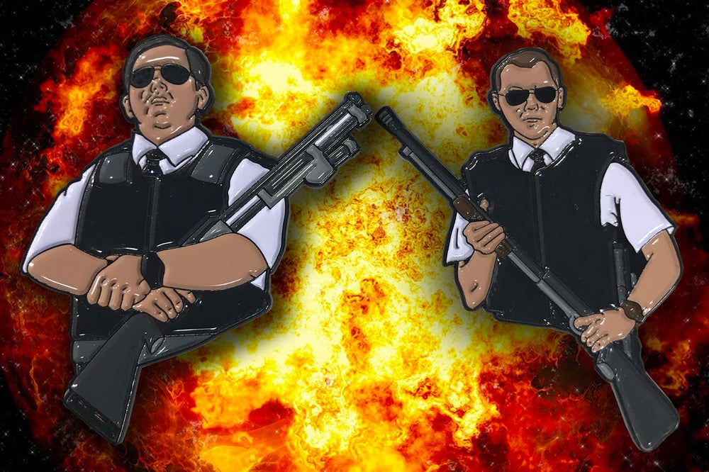 Image of Hot Fuzz Pin Set