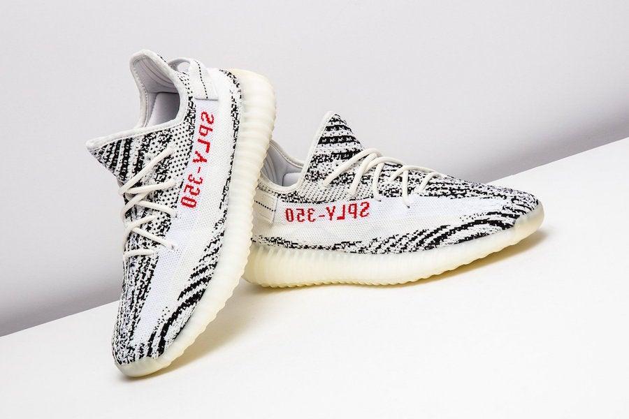 adidas yeezys boost zebra