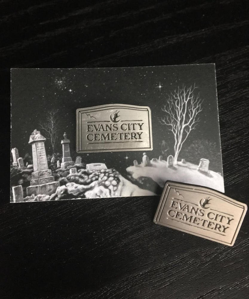 Image of Evans City Cemetery pin