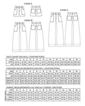 Image of LANDER PANT & SHORT (PDF)