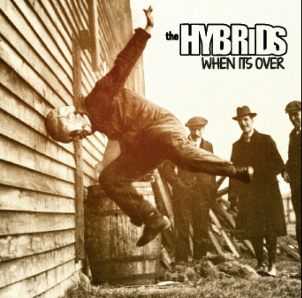 """Image of Hybrids  """"When It's Over""""  12""""  LP"""