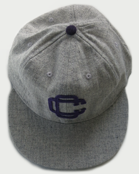 Image of WESTBOUND CAP [HEATHER GREY] BY EBBETS FIELD FLANNELS.