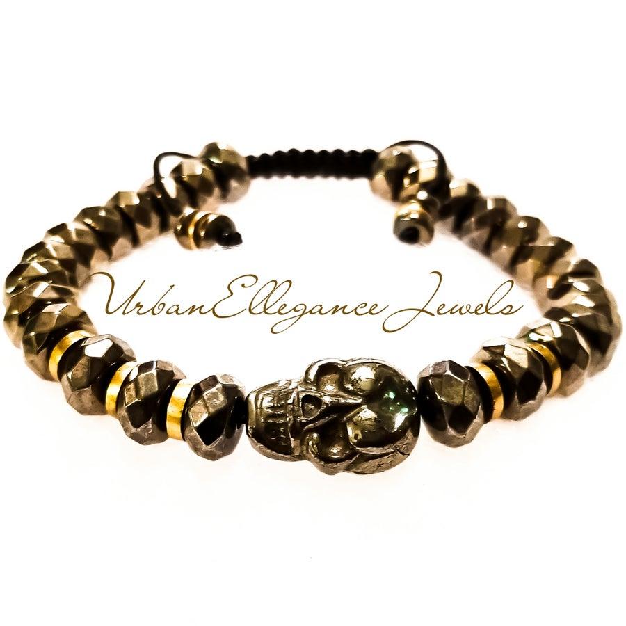 Image of Limited Edition UrbanElleganc Skull King Bracelet
