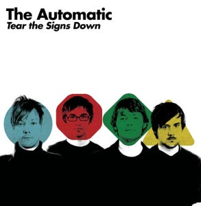 """Image of The Automatic """"Tear the Signs Down"""" CD Gatefold Album"""