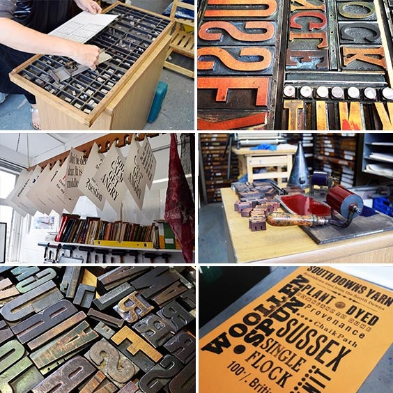 Image of  LETTERPRESS ONE TO ONE SESSIONS. 3 hours. £70.00