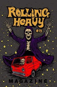 Image of Rolling Heavy Magazine Issue #013