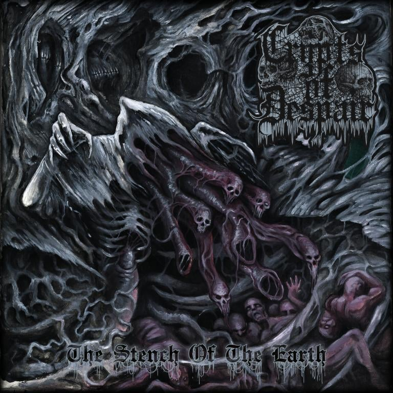 Image of ☩ PRE-ORDER ☩ Crypts Of Despair • The Stench Of The Earth (CD)