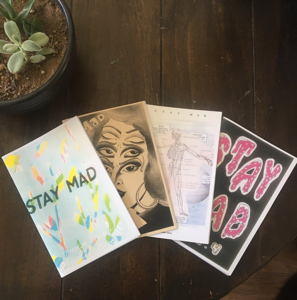 Image of Stay Mad Zine Series