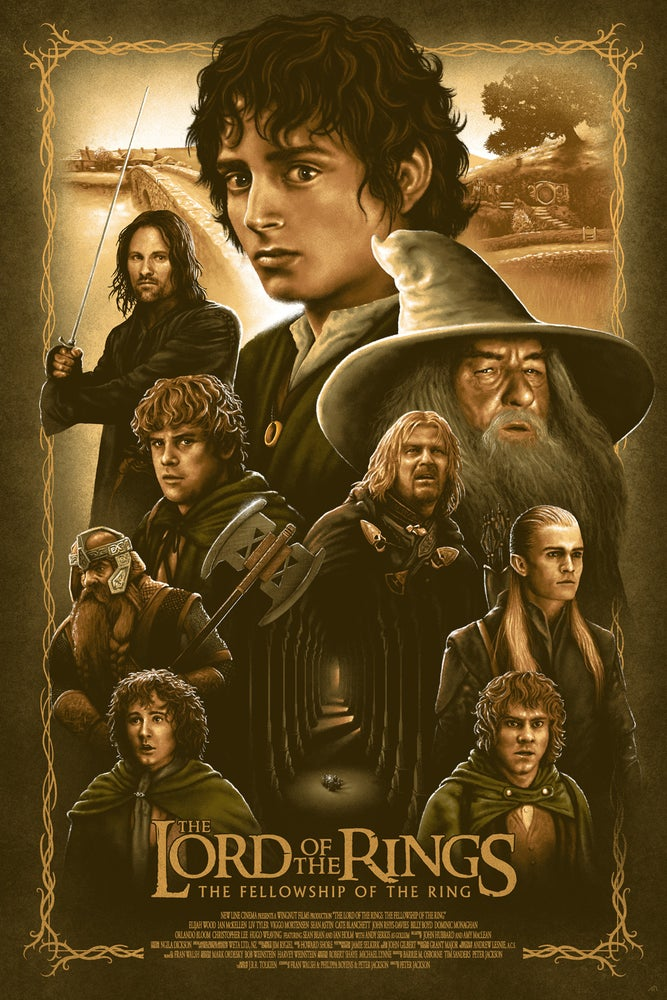 Image of LOTR - THE FELLOWSHIP OF THE RING