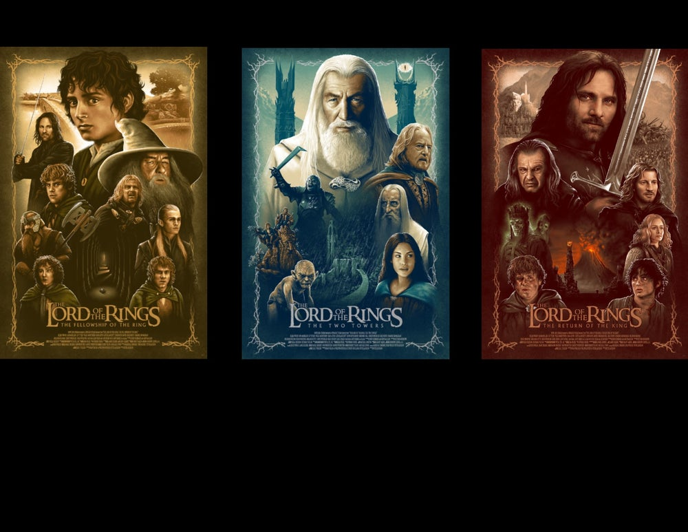 Image of LOTR TRILOGY