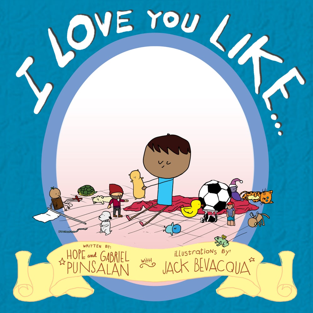 Image of I Love You Like... (English only version)