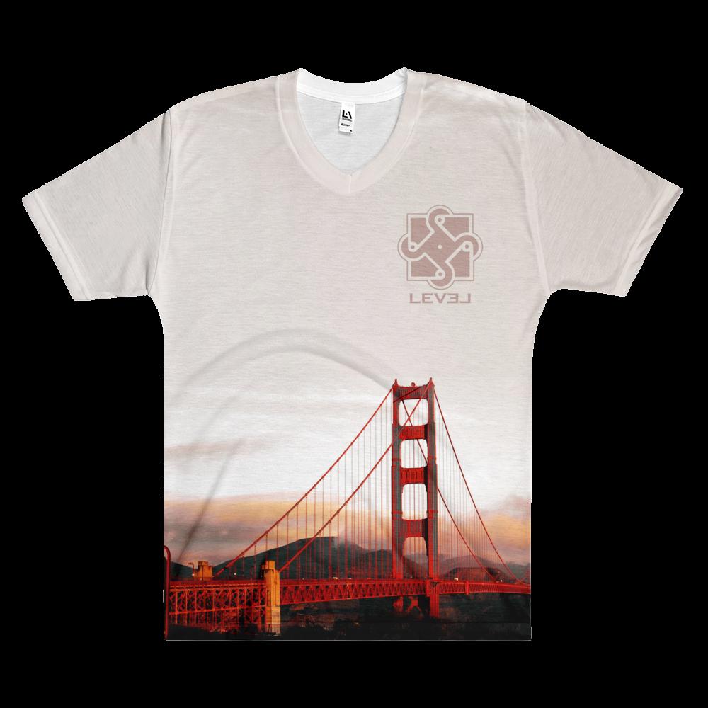 Image of Mens Golden Gate V Neck