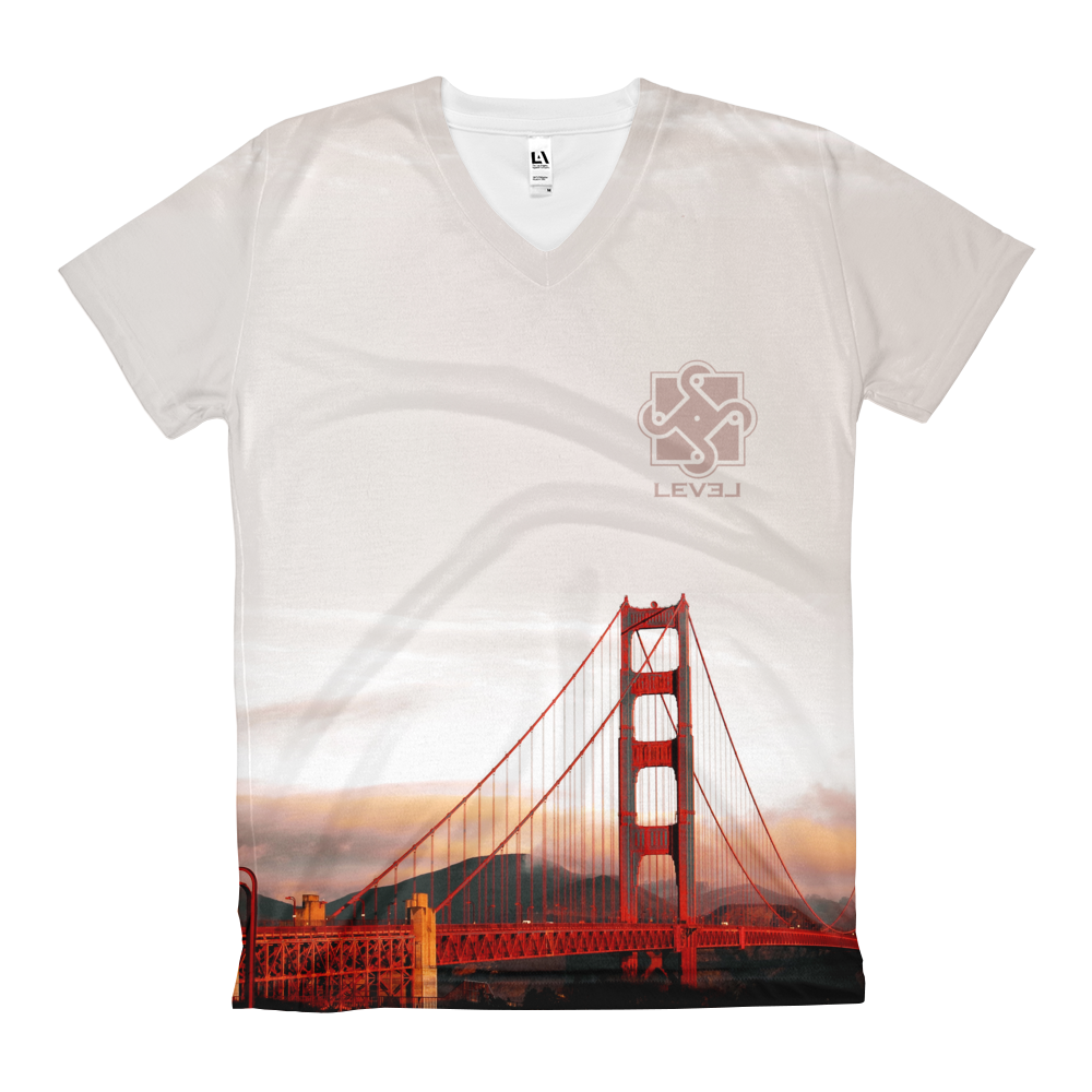 Image of Womens Golden Gate V Neck