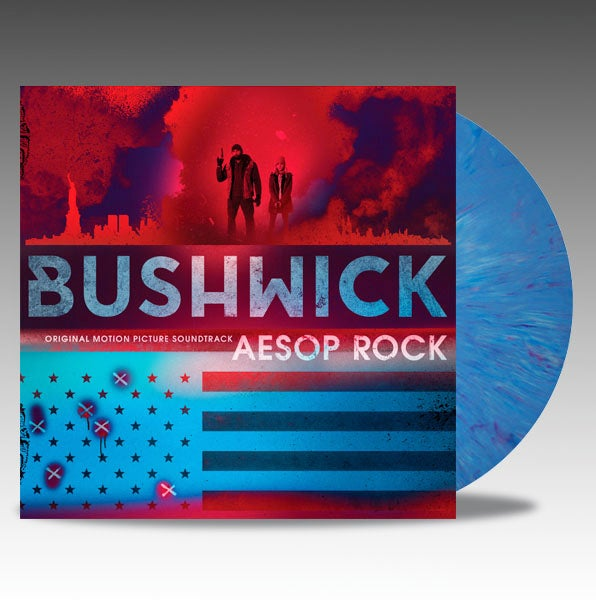 Image of Bushwick (Original Motion Picture Soundtrack) 'Blue Marble' Vinyl - Aesop Rock