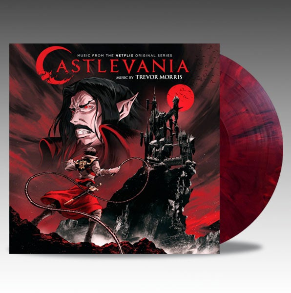 Image of Castlevania (Music From The Netflix Series) 'Red Marble' Vinyl - Trevor Morris *PRE ORDER*