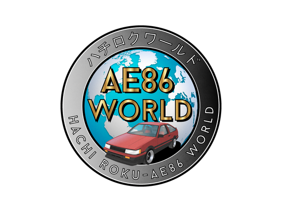Image of NEW AE86 WORLD Sticker