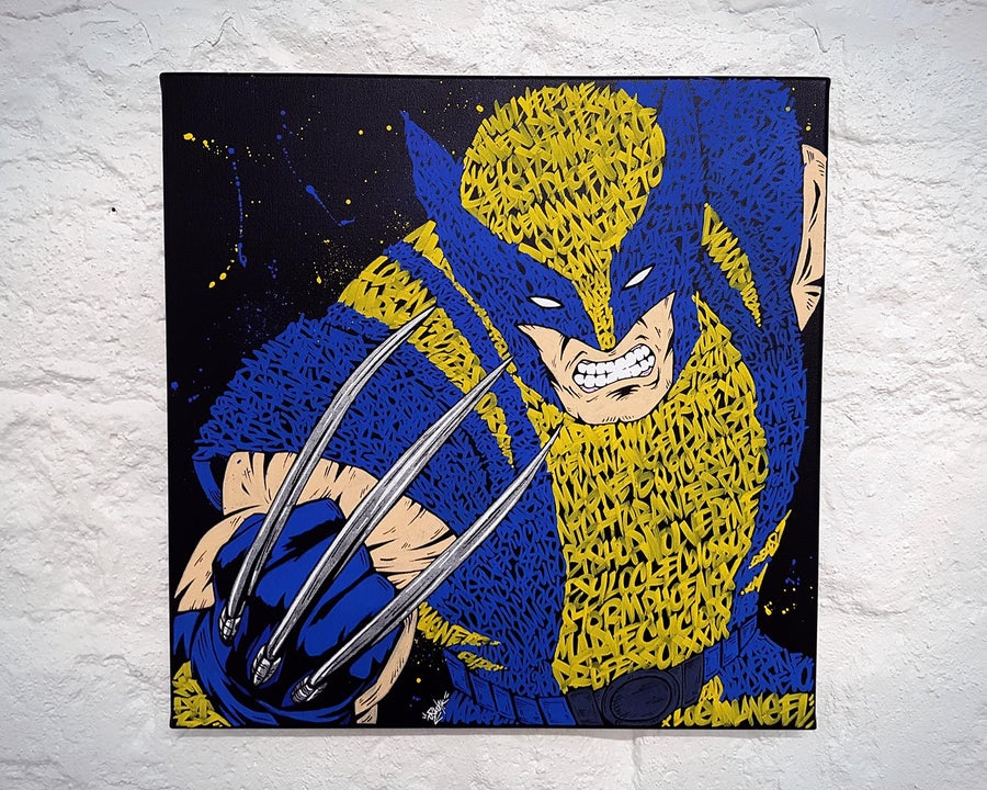 Image of Wolverine Graffiti