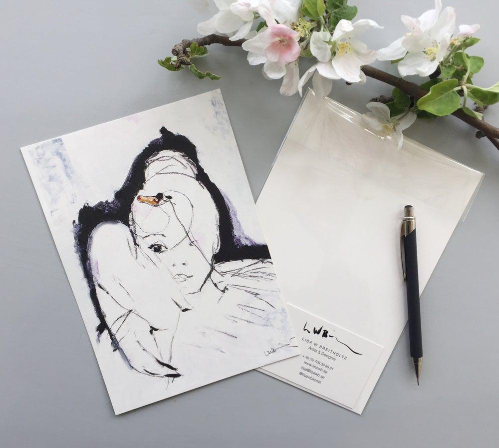 Image of A5/A4/A3 Print # Swan - 79KR/250KR/500KR