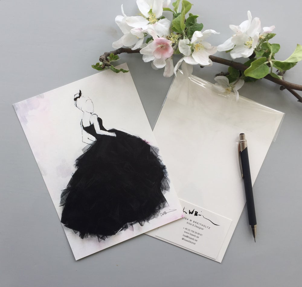 Image of A5/A4/A3 Print # Élégance - 100KR/250KR/500KR