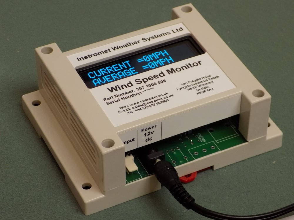 Image of Standalone wind monitor