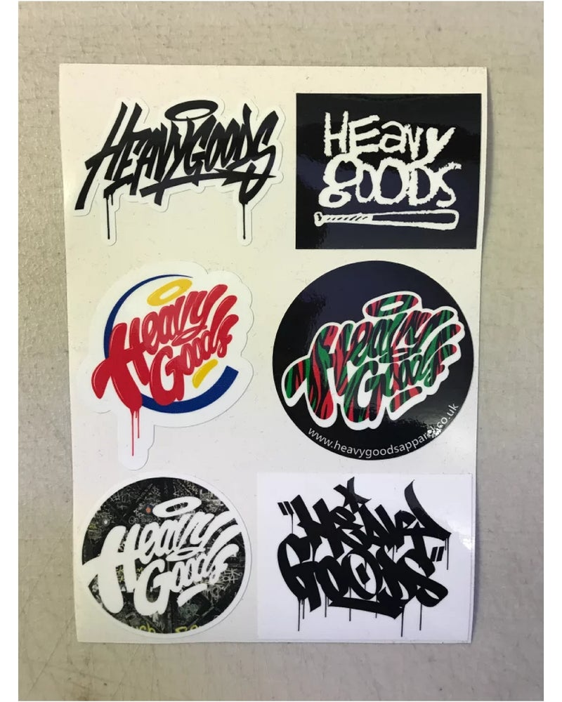 Image of Heavy Goods Sticker Pack