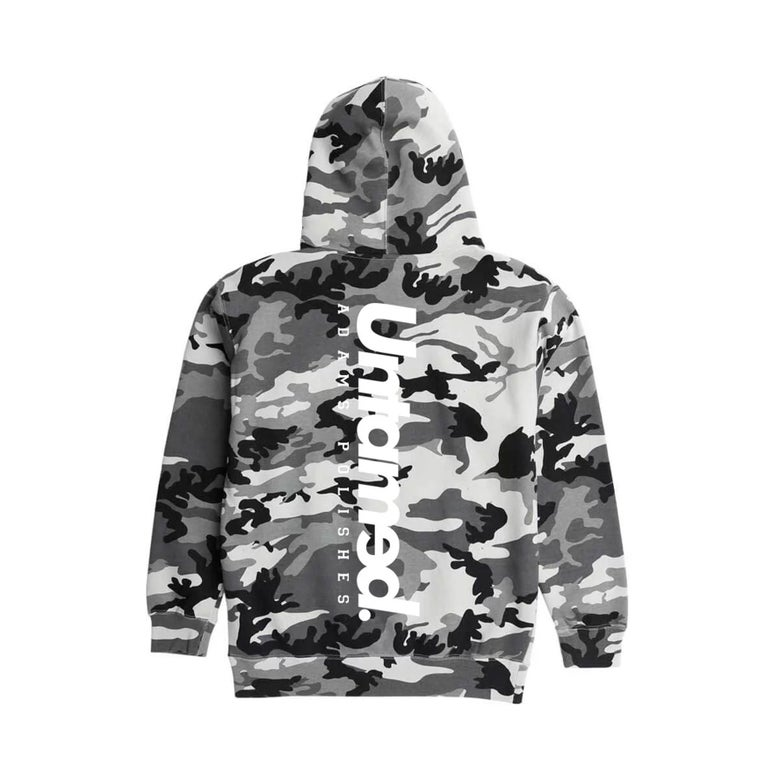 Image of Untamed x Adams Polishes Camo Hoodie