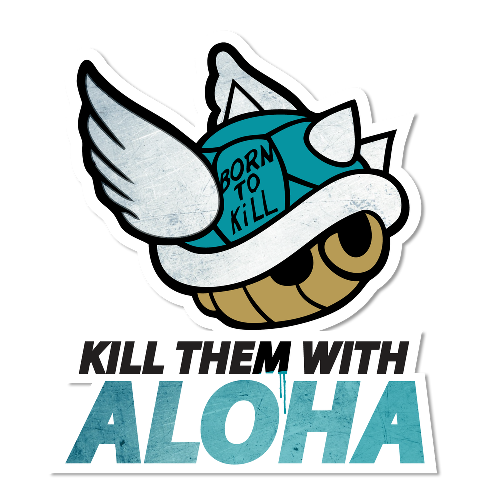 Image of KTWA Blue Shell Sticker