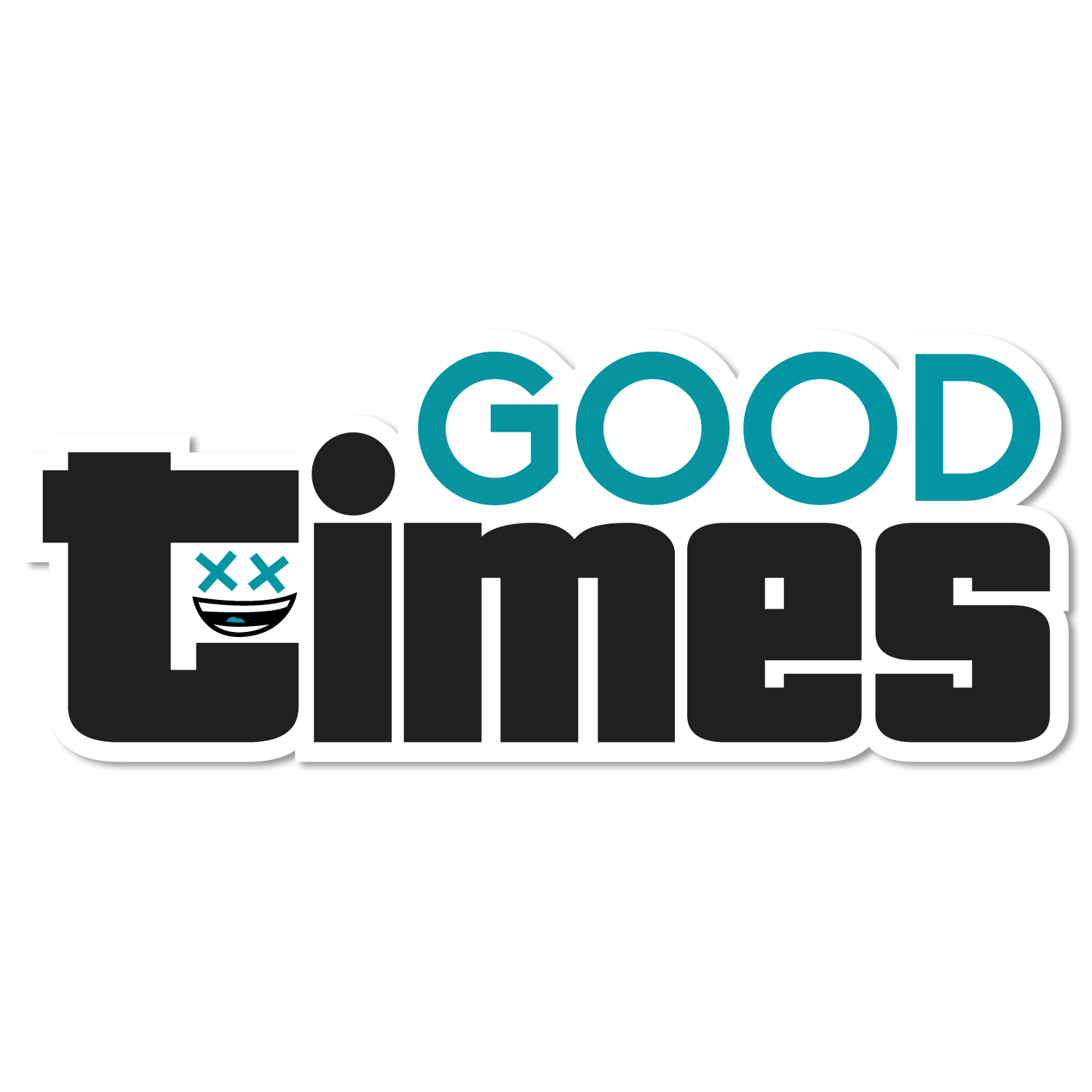 Image of Good Times Sticker