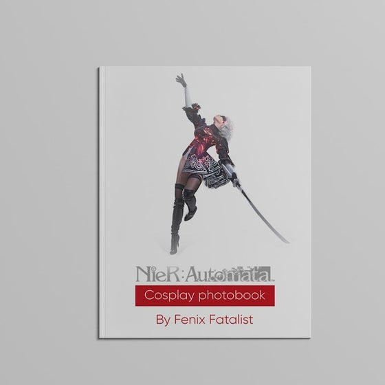 Image of Nier Automata - Cosplay Photobook Signed