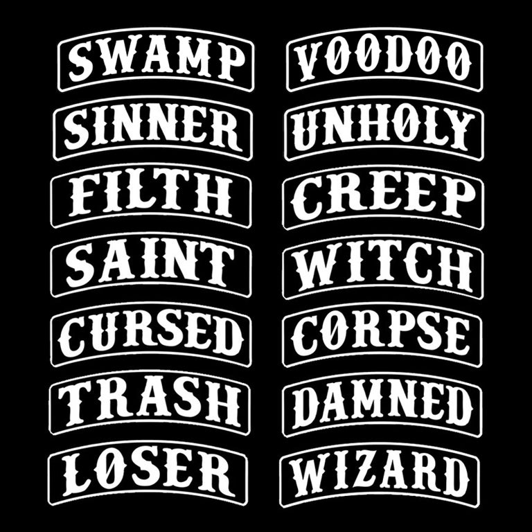 Image of NAMETAGS -  PATCHES