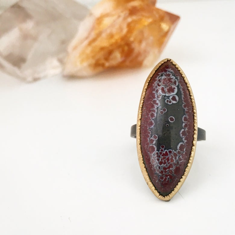 Image of space spear ring