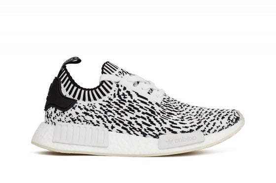 6acf83334 Adidas NMD R1 Black White Tan Cream S76847 Mens sizes